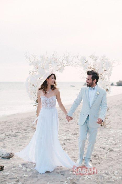 Beren Saat ile Kenan Doğulu'dan aşk paylaşımı! Evliliklerinin 6. Yılını böyle kutladılar!
