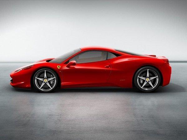 Ferrari'nin yeni kırmızısı: 458 Italia