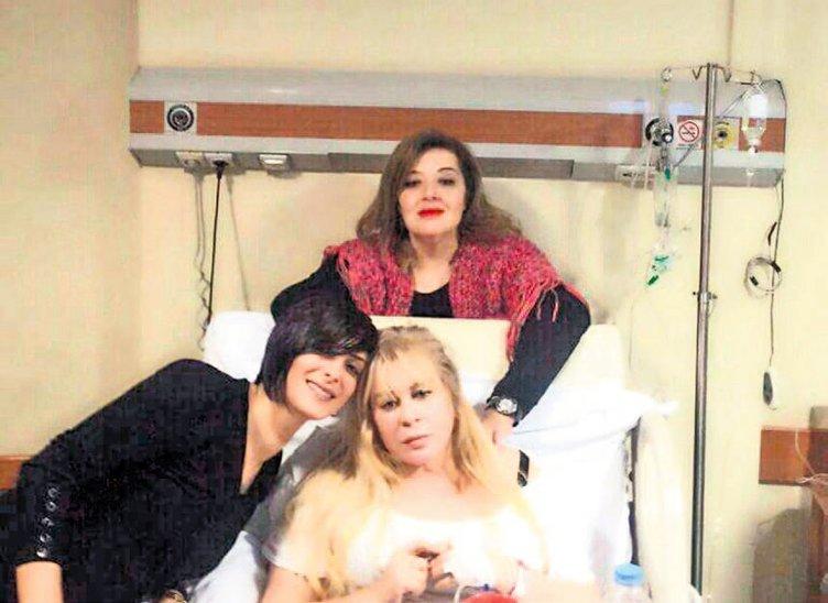 Zerrin Özer yeniden hastaneye kaldırıldı