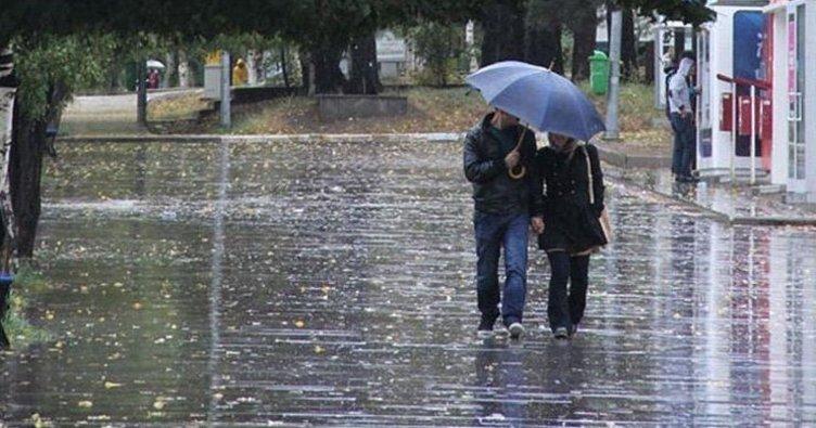 Meteorolojiden 5 il için kuvvetli yağış uyarısı! İşte o iller...