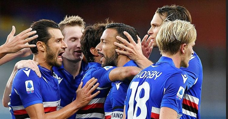 Muriqi Lazio ile ilk maçına çıktı! Sampdoria 3-0 Lazio