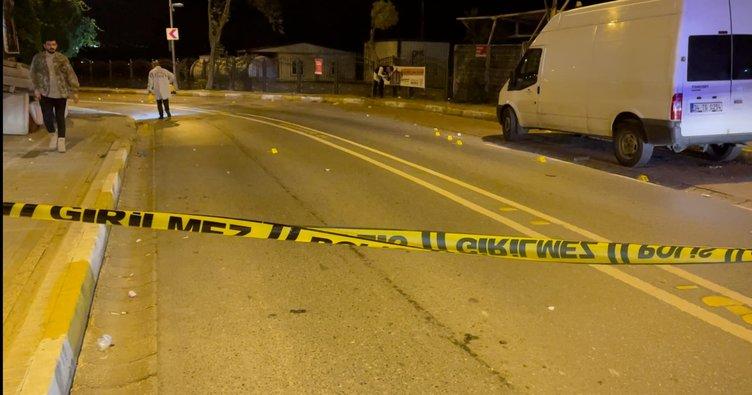 Avcılar'da şüpheli araçtan polise ateş açıldı