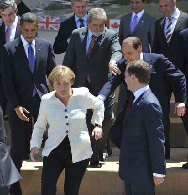 G-8'den ilginç kareler