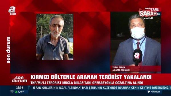 Son dakika: Kırmızı bültenle aranan terörist Muğla'da yakalandı | Video