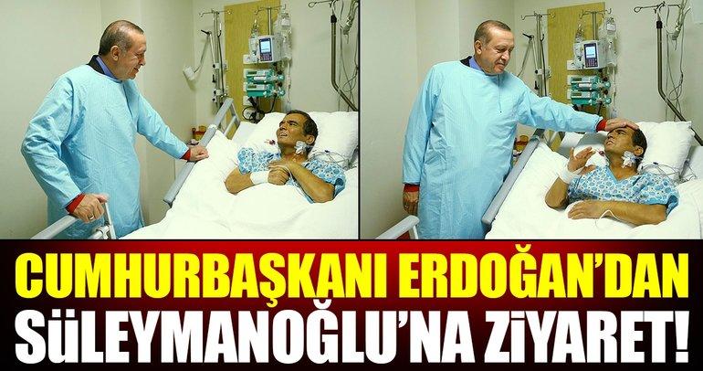 Cumhurbaşkanı Erdoğan, Naim Süleymanoğlu'nu ziyaret etti!