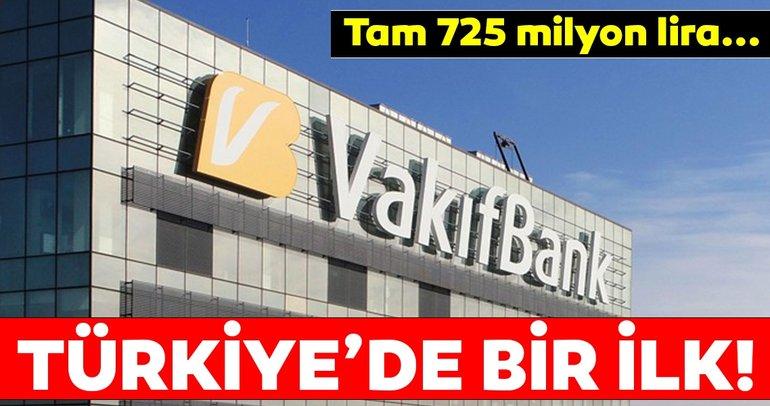 VakıfBank'tan Türkiye'de bir ilk!