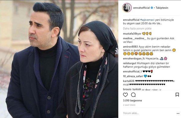 Ünlülerin Instagram paylaşımları (23.03.2018)
