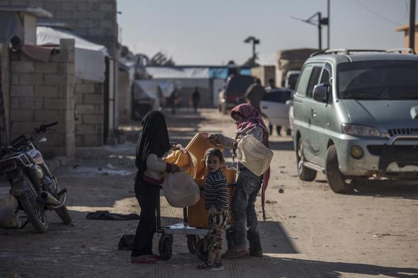 Terör örgütü PKK/YPG'den kurtulan köyden ilk kareler...