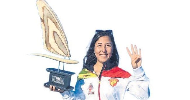Göztepeli Fulya'dan 4'üncü şampiyonluk