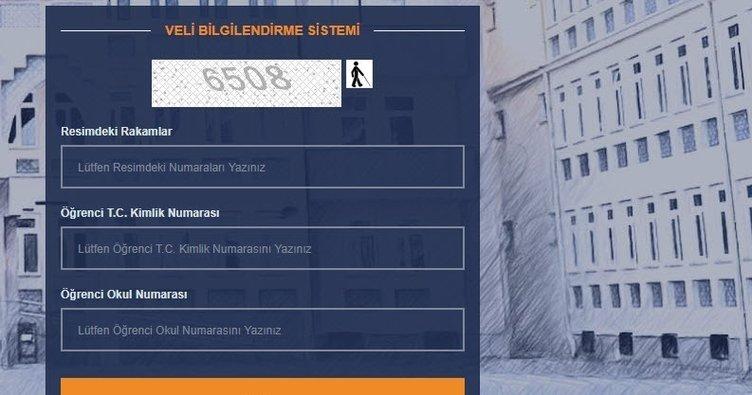 E Okul Veli Bilgilendirme Sistemi ile karne ve sınav sonuçları sorgula! E Okul VBS öğrenci giriş ekranı sayfası!