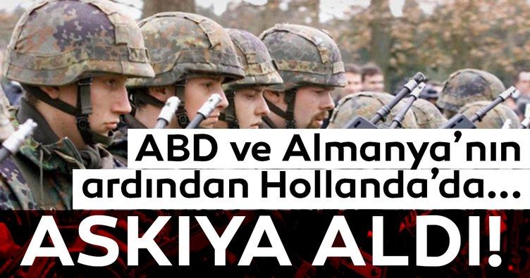 Son Dakika: Almanya Irak'taki askeri faaliyetlerini askıya aldı