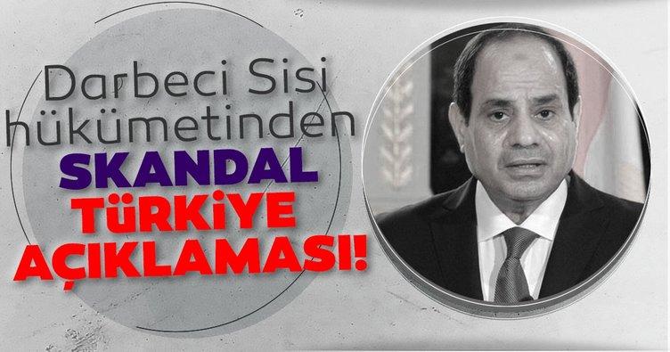 Darbeci Sisi hükümetinden skandal Türkiye açıklaması! Oruç Reis'ten rahatsız oldular...