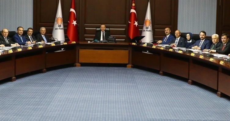 AK Parti MYK toplantısı sona erdi!
