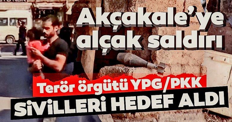 Sınırdan son dakika haberi: Akçakale'ye hain saldırı! Siviller hedef alındı... Şehit ve yaralılarımız var