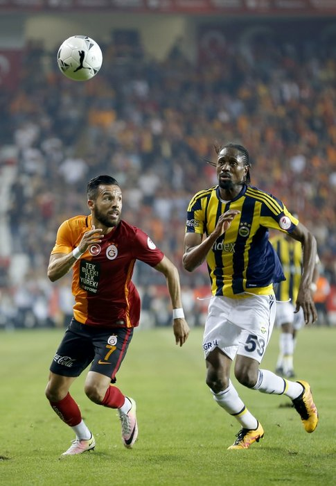 Galatasaray-Fenerbahçe Türkiye Kupası finalinden kareler