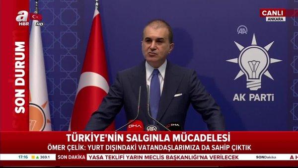 AK Parti Sözcüsü Ömer Çelik'ten MYK Toplantısı sonrası flaş açıklamalar   Video