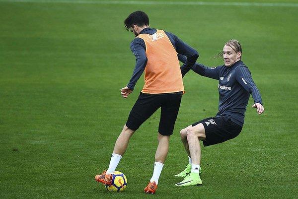 Beşiktaş'ın yeni transferi Vida uyum sağlıyor