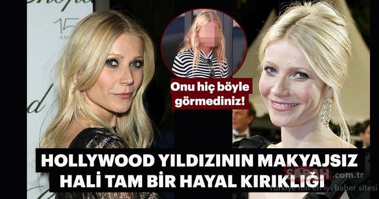 Gwyneth Paltrow'u görenler tanıyamadı... Onu hiç böyle görmediniz!