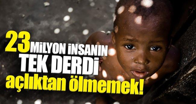 23 Milyon insanın tek derdi açlıktan ölmemek!