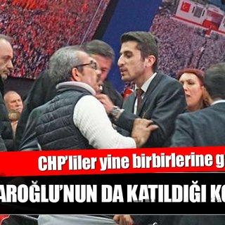 CHP İstanbul Kongresi'nde gergin anlar
