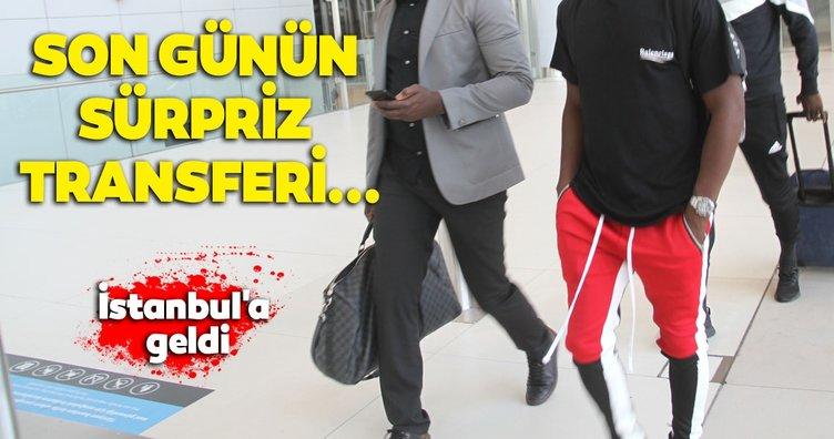 Beşiktaş'ın yeni transferi Abdoulay Diaby İstanbul'da