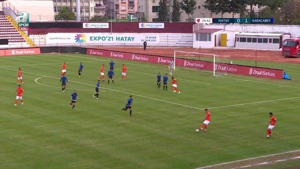 GOL | Hatayspor 1-1 Karacabey Belediyespor
