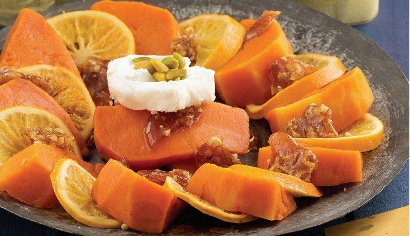 Portakallı Balkabağı Tatlısı