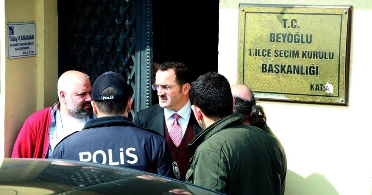 AK Parti Beyoğlu İlçe Teşkilatı 13 sandıkta itirazda bulundu