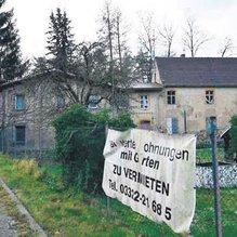 Alman köyü 140 bin euroya satıldı