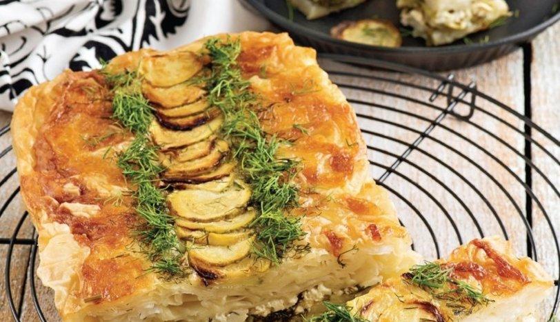 Peynirli Sebzeli Yufka Böreği Tarifi