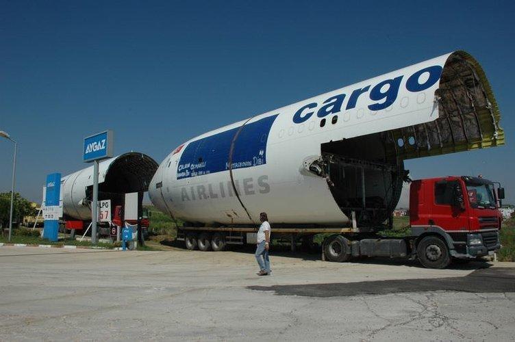 Emektar kargo uçağı restoran olarak hizmet verecek