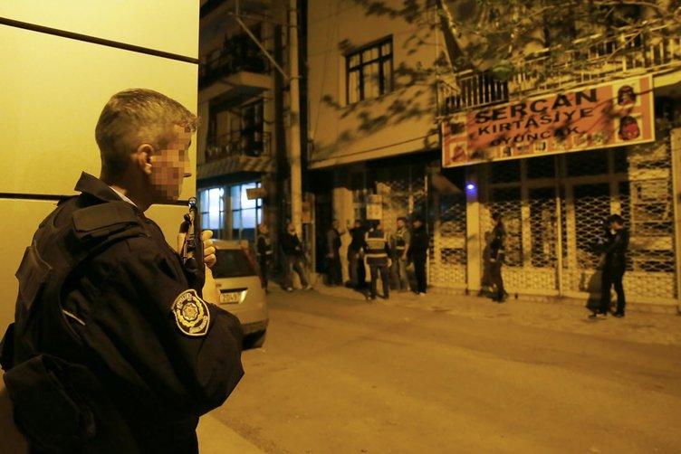 İzmir'de DEAŞ operasyonunda ele geçirilen mühimmat!