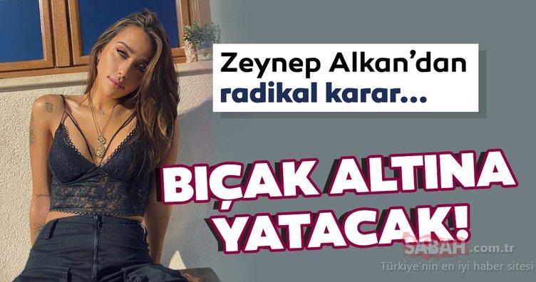 Zeynep Alkan bıçak altına yatacak! 22 yaşındaki genç oyuncu Zeynep Alkan'dan estetik kararı!