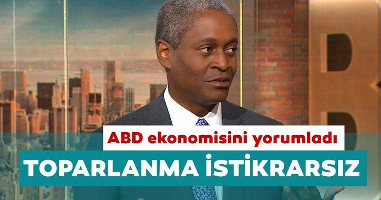 Atlanta Fed Başkanı Bostic: ABD'de ekonomik toparlanma çok istikrarsız
