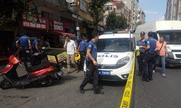 Bahçelievler'de apartmanın merdivenlerinde silahlı saldırı: 2 yaralı