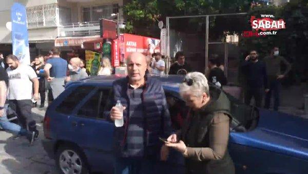 İzmir ve çevresinde hissedilen deprem sonrası vatandaşların panik anları kamerada | Video