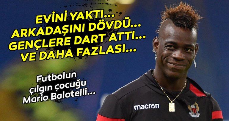 Futbol dünyasının çılgın çocuğu: Mario Balotelli