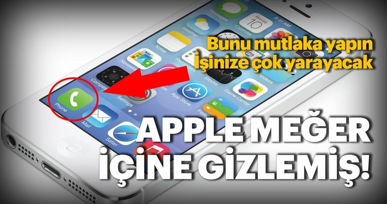 iPhone'ların bilinmeyen muhteşem özelliği! Eğer bunu yaparsanız...