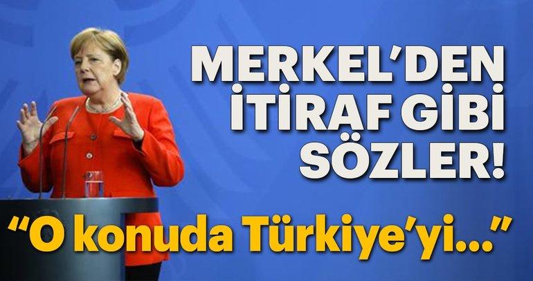 Merkel'den itiraf gibi sözler! 'Türkiye'yi ihmal ettik'