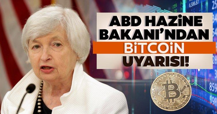 ABD Hazine Bakanı Yellen'dan 'Bitcoin' uyarısı: Yasa dışı finansman için kullanılıyor