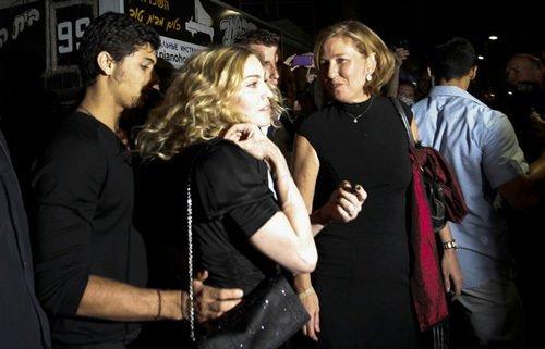 Madonna 16 yıl aradan sonra İsrail'de