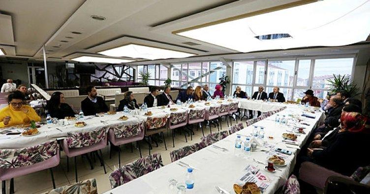 Bolu'da engelli derneklerinin temsilcileri bilgilendirildi