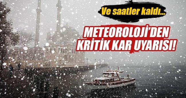 Kar ne zaman yağacak? Meteoroloji verilerine göre 5 günlük hava durumu - İstanbul ve diğer iller...