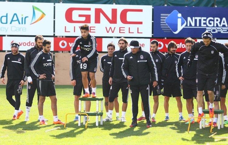 Dany, Beşiktaş'ta ilk idmanına çıktı