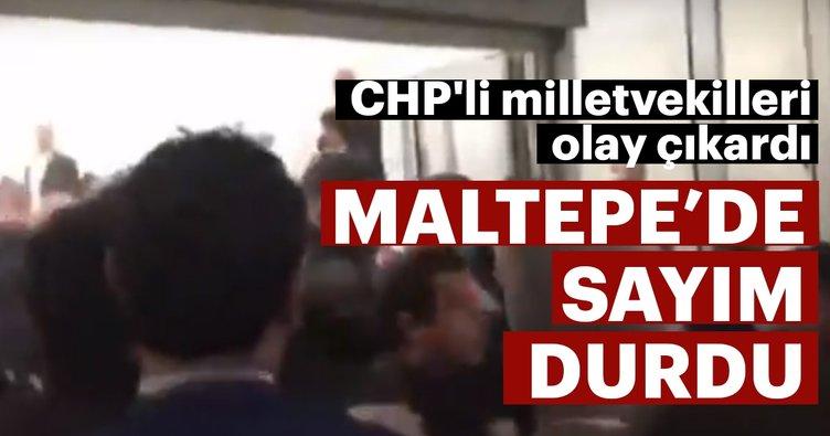 Son dakika haber: İstanbul Maltepe'de sayım durdu
