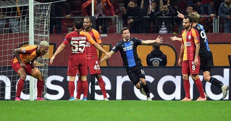 Galatasaray, Avrupa'da 90+2'de yıkıldı