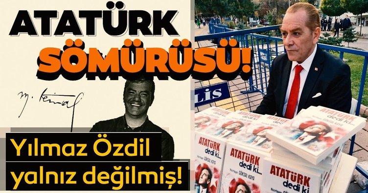 Atatürk tüccarlığı yolunda ilerliyorlar!