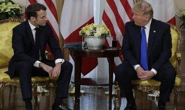 Macron, Trump'la koronavirüsü görüştü