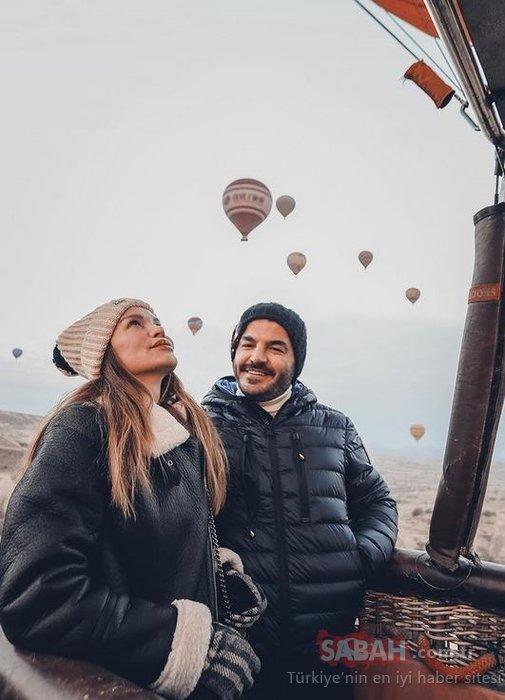 Ebru Şallı yeni yaşına tatilde girdi! Yeni yaşını kutlayan Ebru Şallı eşi Uğur Akkuş ile denizin ve güneşin keyfini çıkarıyor...