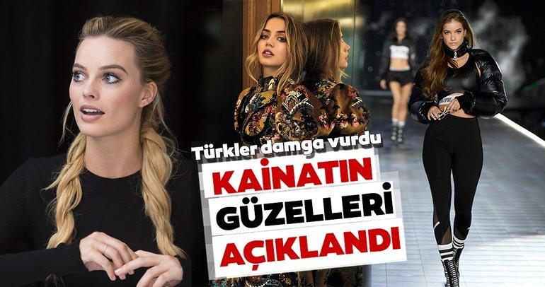 Kainatın en güzel kadınları belli oldu! Listeye Türkler damga vurdu